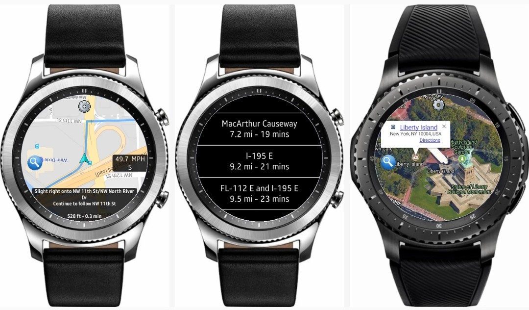 Best GPS & Navigation Apps For Samsung Galaxy Watch & Gear S3